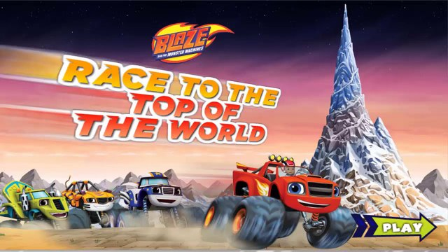 Monster Trucks Racing | Blaze Race To The Top Of The World | Blaze And The Monster Machines