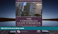 PDF [FREE] DOWNLOAD  The Commercial Lease Formbook: Expert Tools for Drafting and Negotiation FOR