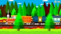 Enfants Vidéo D'apprentissage - Le Train, Camion et Voiture de Course - La Voiture Pour Enfants