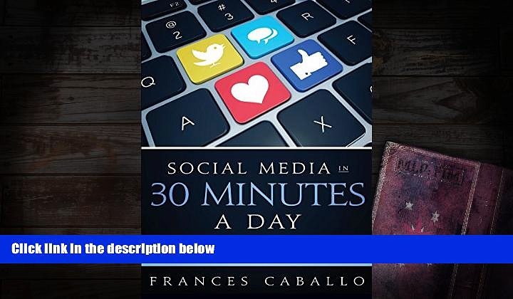 Read  Social Media in 30 Minutes a Day: Social Media Marketing Strategies and Tips for Busy