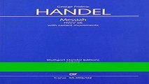Handel: The Messiah. Vocal Score - CARUS URTEXT Full Ebook