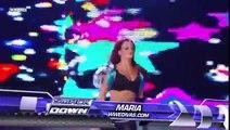WWE Smackdown maria vs maryse