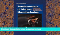 PDF [FREE] DOWNLOAD  Fundamentals of Modern Manufacturing: Materials, Processes, and Systems, 2nd
