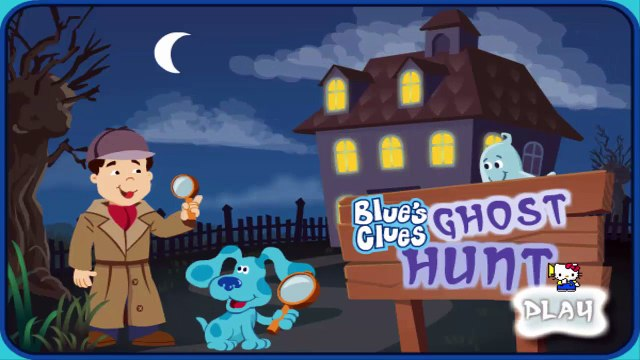 Nick Jr   Blues Clues Ghost Hunt   Blues Clues Games   Dip Games for Kids ✔