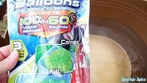 PJ Masks Owlette, Gekko, Catboy Water Balloons Bath Paint Game, Get Mashems Fashems Toy Surprises