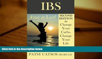 Audiobook  IBS: Free at Last! Change Your Carbs, Change Your Life with the FODMAP Elimination
