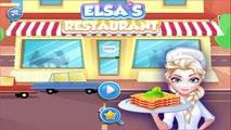 Frozen Elsa and Anna Restaurant Spinach Lasagna - Disney Princess Games for Kids