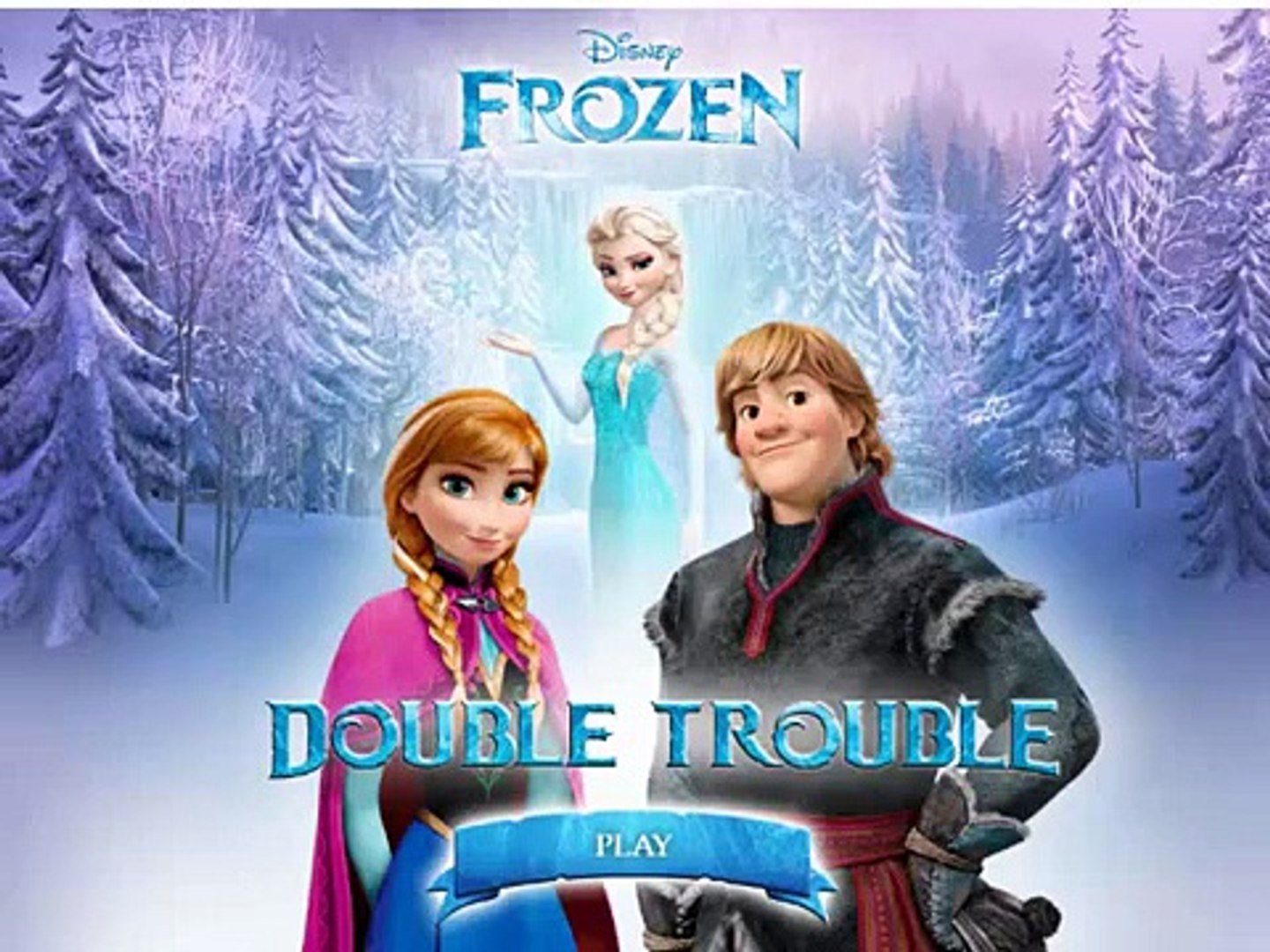 Frozen double trouble game , nice game play for kids , best game for kids , super game for child