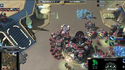 NightMare utilise le blink du DT - StarCraft II