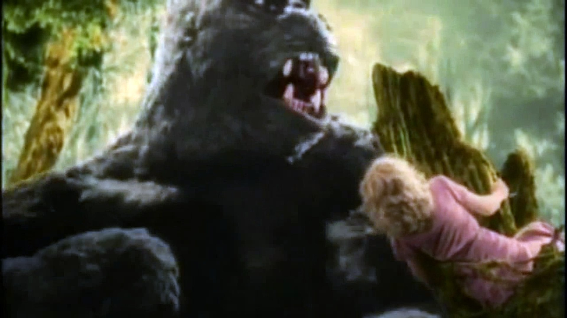 Anaconda Movie Hot Scene king kong 1933 in colour-all king kong scenes-