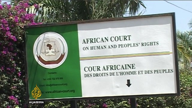 Africa's human rights court and the limits of justice - Talk to Al Jazeera