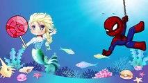 Frozen Elsa vs Masha Crying Spiderman ! Paw Patrol Bear Ice Cream Superheros in Real Life PJ Masks