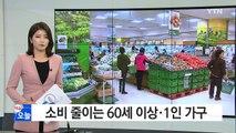 """""""미래 불안"""" 고령 가구·1인 가구도 소비 줄인다 / YTN (Yes! Top News)"""