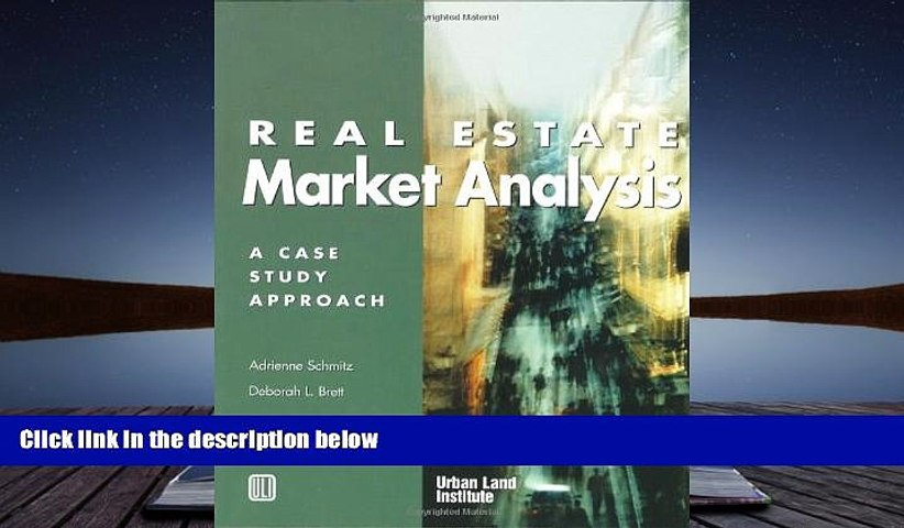 PDF [Download] Real Estate Market Analysis: A Case Study Approach ...