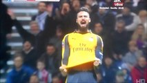 Olivier Giroud With A Terrible Miss vs Preston!