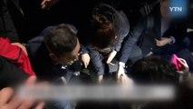 """""""모두가 한마음"""" 쓰러진 촛불시민 도운 경찰 / YTN (Yes! Top News)"""