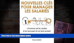 BEST PDF Nouvelles clA c s pour manager les salariA c s L ho