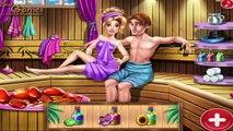 Rapunzel and Flynn Sauna Flirting - Rapunzel Princess Games