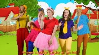 Five Little Monkeys Jumping on the Bed _ Children nursery rhymes!-16Wk2piuW60