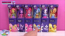 My Little Pony Equestria Girls Rainbow Dash Applejack Pinkie Pie Twilight Rarity Fluttershy - SETC