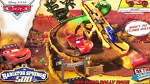 Cars Radiator Springs 500 1/2 Off-Road Rally Playset - Disney Action Shifters Lightning McQueen