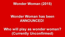 WONDER WOMAN MOVIE ANNOUNCED! WHO WILL BE WONDER WOMAN 2015-a6MZjgEQtw4