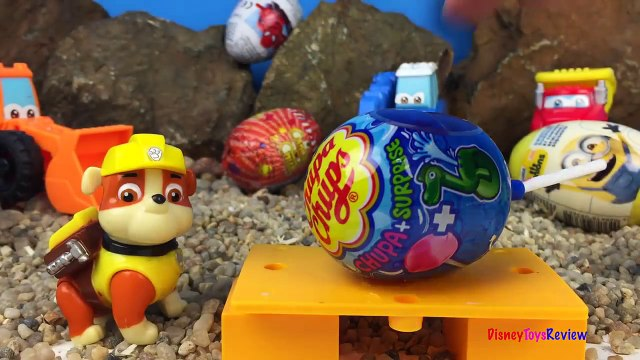 Playdoh Playdough Diggin Rigs Paw Patrol Rubble Surprises Flinstones Chocolate eggs Shopkins su