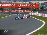 F1 2002 France Montoya MSchumacher Raikkonen battle