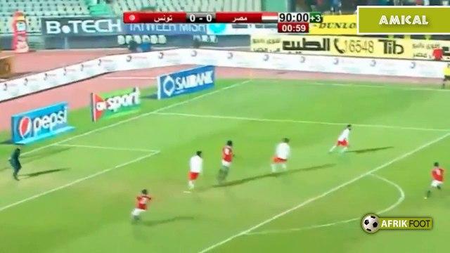 Egypte vs Tunisie (1-0) - Match amical