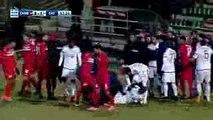 Christos Lisgaras & Seba Red Card - Xanthi vs Olympiakos 0-1  08-01-2017