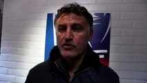 Christophe Galtier: «Nous ne sommes pas tombés dans le piège»