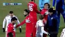 Seba & Christos Lisgaras Red Card - Xanthi 0-1 Olympiakos - 08-01-2017