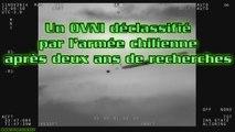 Un OVNI déclassifié par l'armée chilienne après deux ans de recherches HD ufo Chile ovni Chili chemtrail