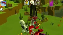 LEGO Ninjago Cartoon in Russian 5 series. Cartoons for kids. LEGO Mania