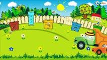 Voitures et camions dessins animés pour les enfants - CAMION - La voiture pour enfants