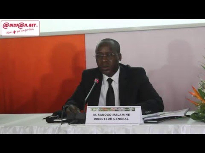 Conseil Coton-Anacarde/ Le DG fait le bilan de la campagne 2016 à mi-parcours