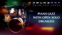 Instrumental Piano Jazz Drumless Track with Open Solo Bar