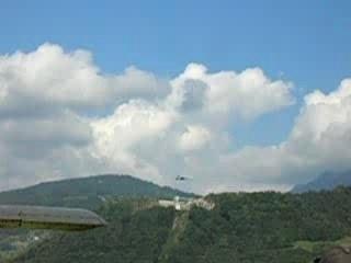 F/A 18 suisse à Bex