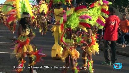 Ouverture du carnaval 2017 à Basse-Terre