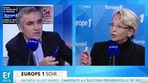 """Michèle Alliot-Marie : """"Je ne suis pas sûre que la droite se soit tellement rassemblée"""""""