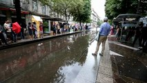 Un violent orage sur l'agglomération grenobloise bloque le...