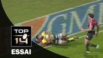 TOP 14 ‐ Essai Wesley FOFANA (ASM) – Clermont-Toulon – J16 – Saison 2016/2017