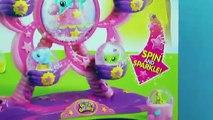 DisneyCarToys Peppa Pig amp Glitzi Globes Ferris Wheel Park Ride With George Pig Pepa Zoe