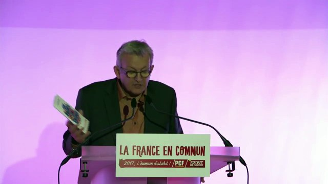 Vœux de Pierre Laurent et du PCF 2017