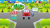 The Yellow Tow Truck & The Fire Truck   Emergency Vehicles   Cars & Trucks cartoons for kids
