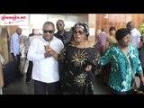 Decès de Papa Wemba: Maman Amazone, l`épouse de l`artiste et une forte délégation venues de Kinshasa