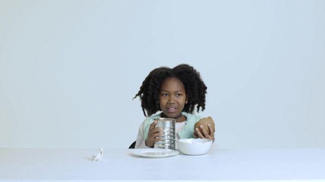 Kids Try 100 Years of Health Foods