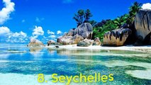 Top 10 Most Beautiful Islands in The World  -- Top 10 Best Beaches in the World--top 10 most romantic palaces