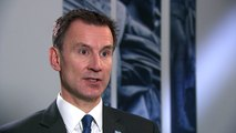 """Jeremy Hunt says """"we have to do better"""" on mental health"""