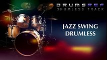 Instrumental Jazz Swing Drumless Track with Open Drum Solo Bar #4